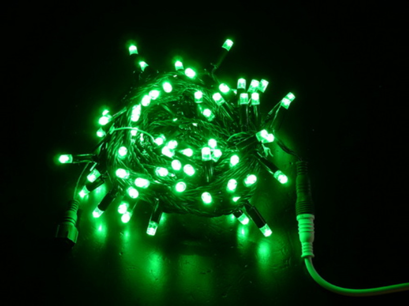 LED Holiday PVC Warm String Light for Festival Event Decoration