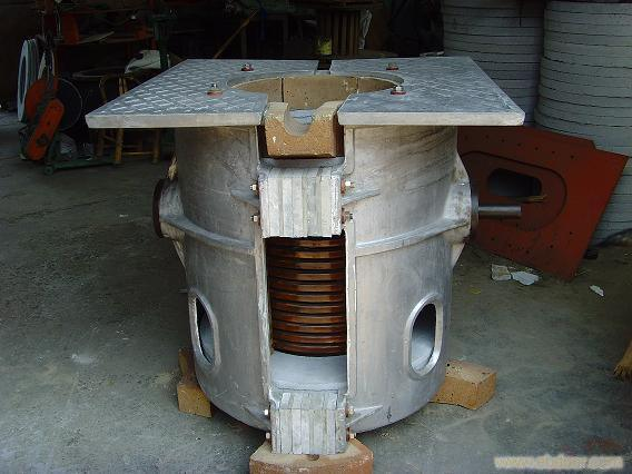 Short Melting Time Stainless Furnace for 100kg