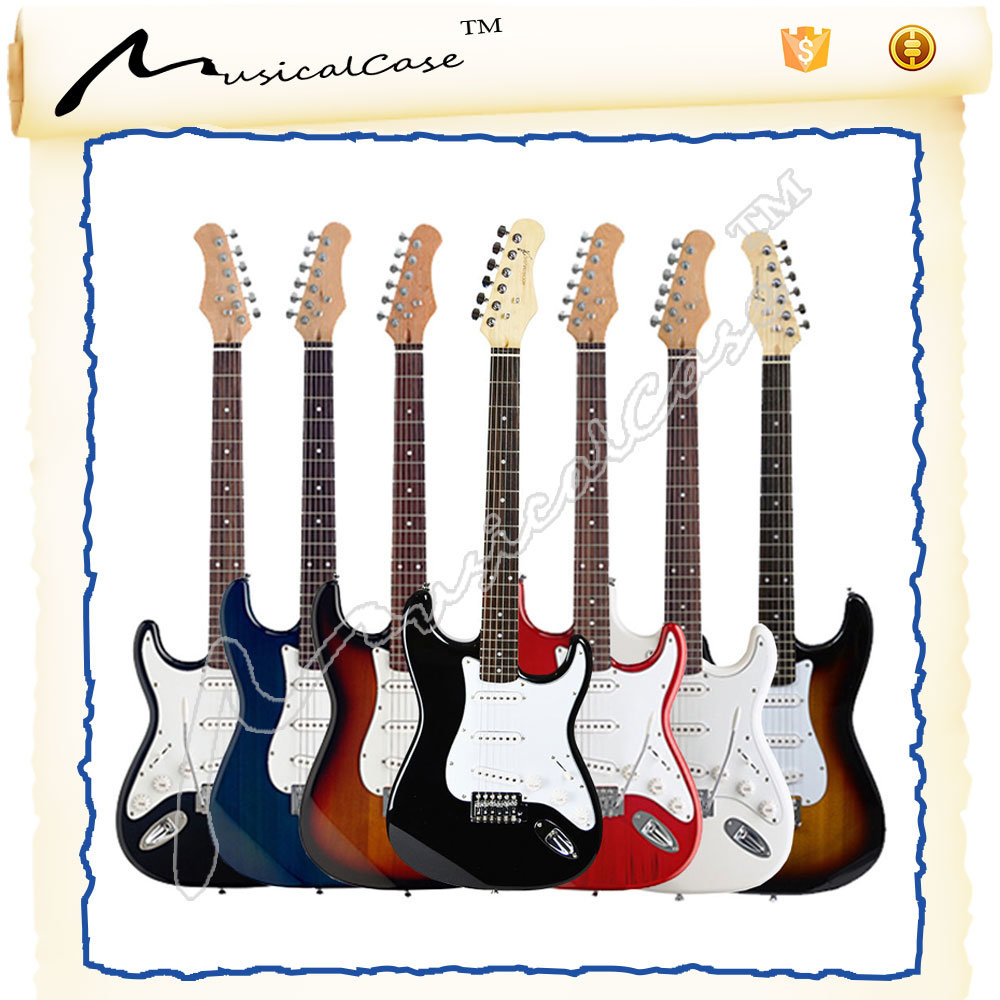 Multi-Color Cheap China Electric Guitar
