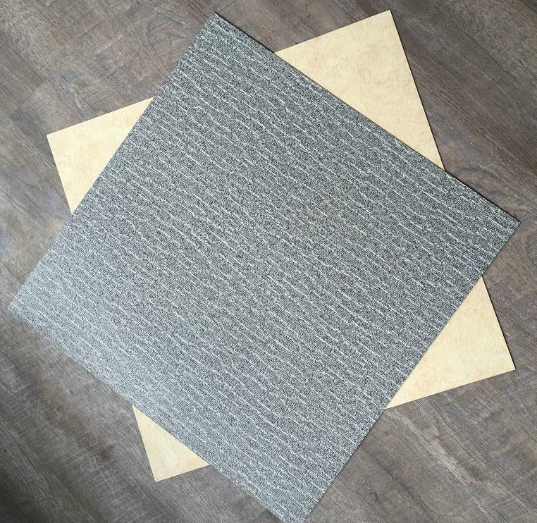 PVC Vinyl Floor Tiles / PVC Commercial Flooring / PVC Dry Back / Glue Down