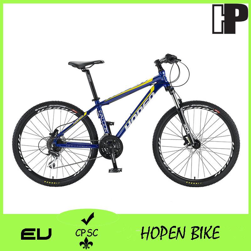 """New 26"""" 27sp Popular Alloy Mountain Bicyle, White, Black+ Red, Mountain Bike"""