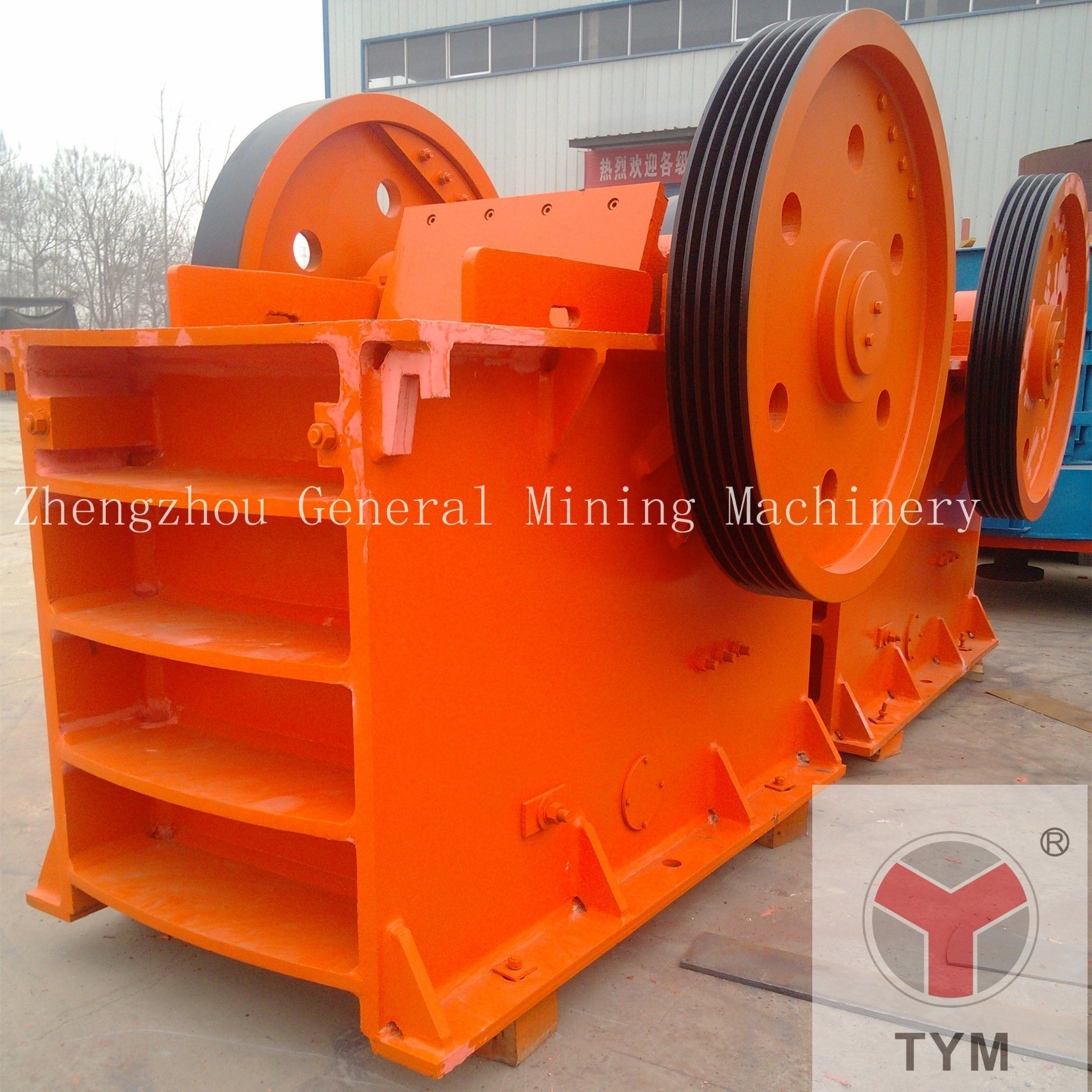 2017 Hot Sale PE Diesel Jaw Crusher Manufacturer in Zhengzhou