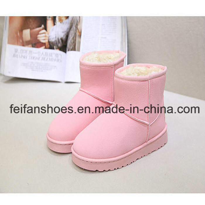 Hot Sale Women Snow Boots Casual Shoes Boots Factory (FF-3)