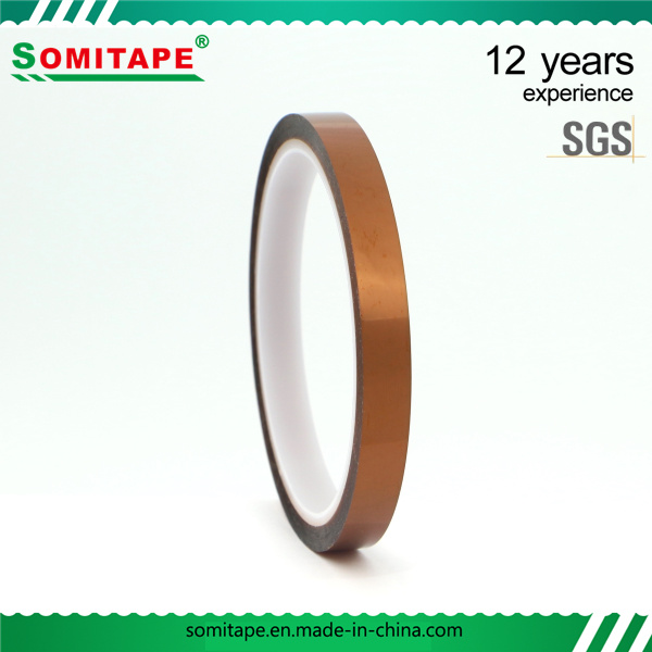 Somitape Sh35081 Golden Pet Tape/Heat Resistant Pet Adhesive Tape for Electric, Automotive, LED