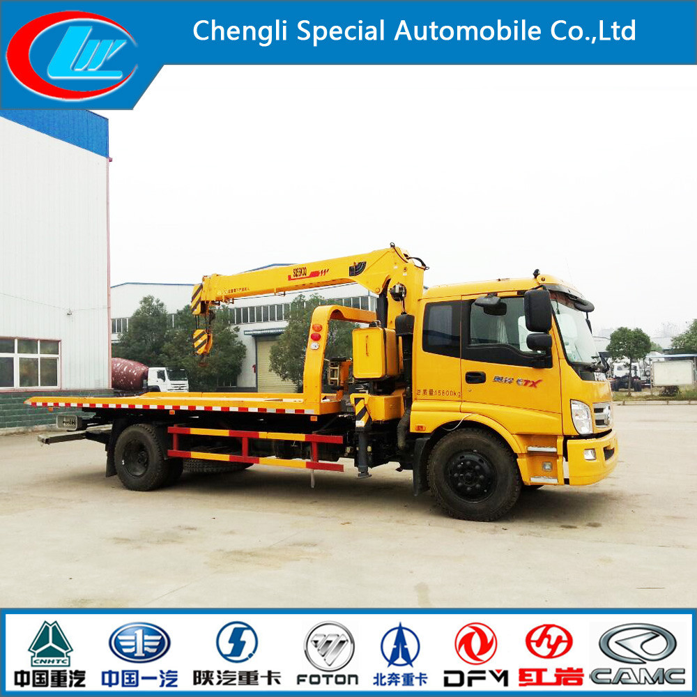 New Design Foton 6 Wheels Crane Truck