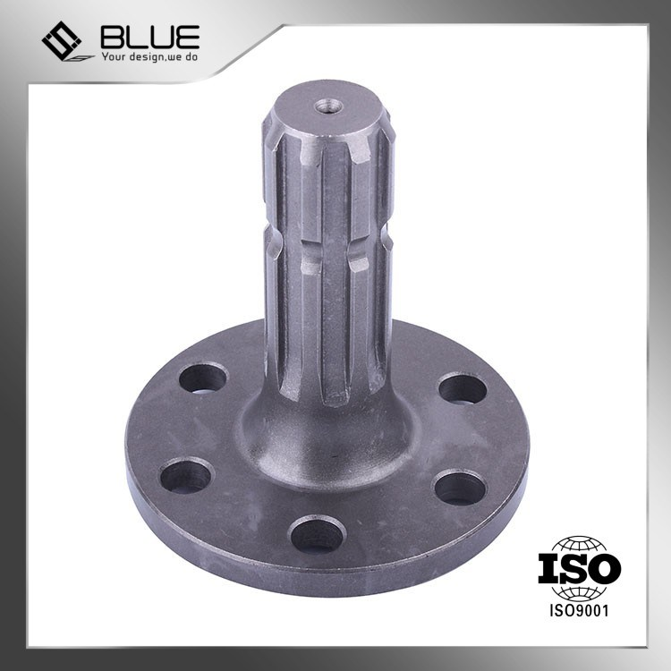 4 axis cnc machine-China Machined Forging Shaft with Low Cost