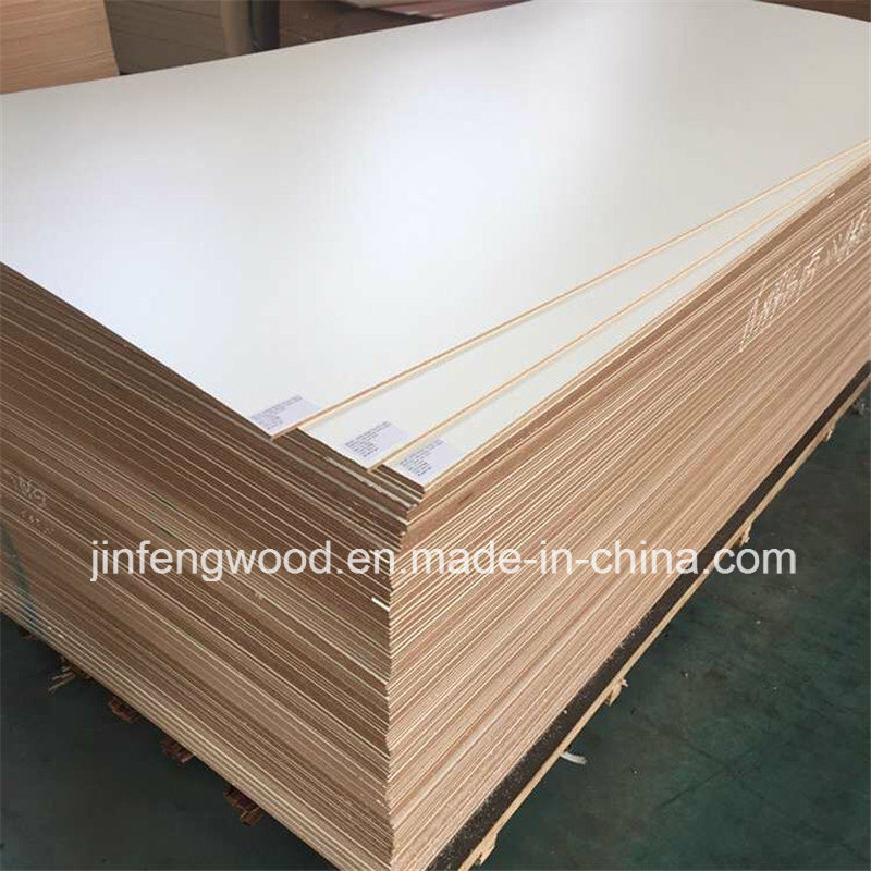 Melamine MDF with Size 1220*2440mm for Furniture, Cabinet