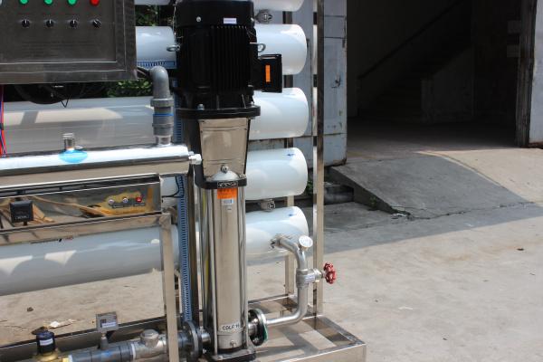 High Efficient Reverse Osmosis Salt Water Purifier Desalination for Drinking 10tph