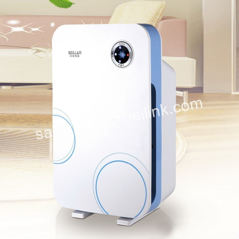 Smart Home Appliance of Air Purifier with Dust Sensor