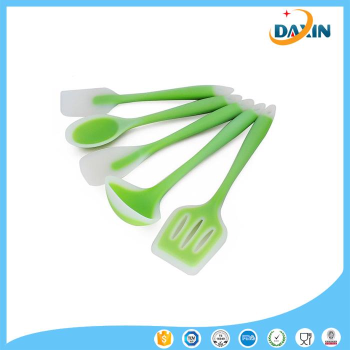 Translucent Cream Butter Brush Silicone Spatulas Scraper Cook Kitchenware
