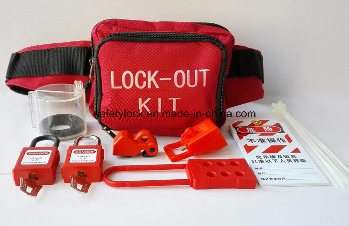 Plastic Safety Padlock with Master Key