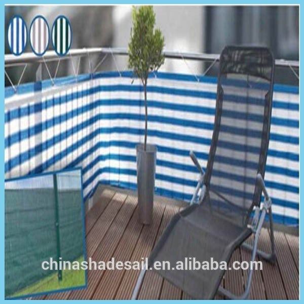 100% Virgin HDPE Balcony Screening Fence Net for Leisure (Manufacturer)