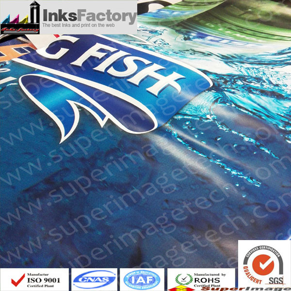 Silkscreen UV Ink for PVC, Pet, ABS, BOPP, PP, PE, Acrylic, Plastic