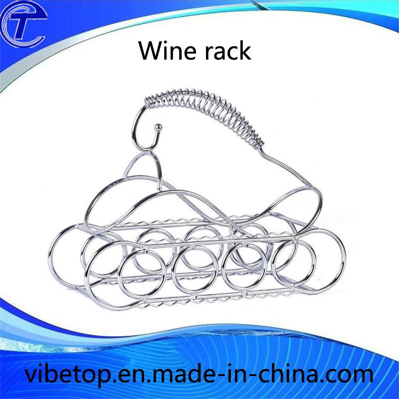 Metal Hanging Wine Display Rack