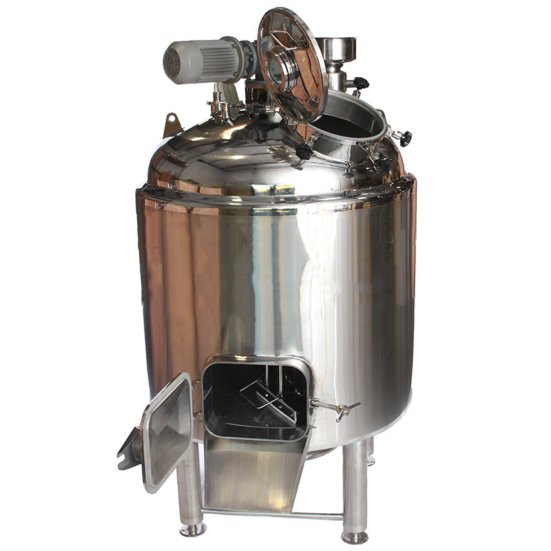 Stainless Steel Mash Tun for Home Brewing
