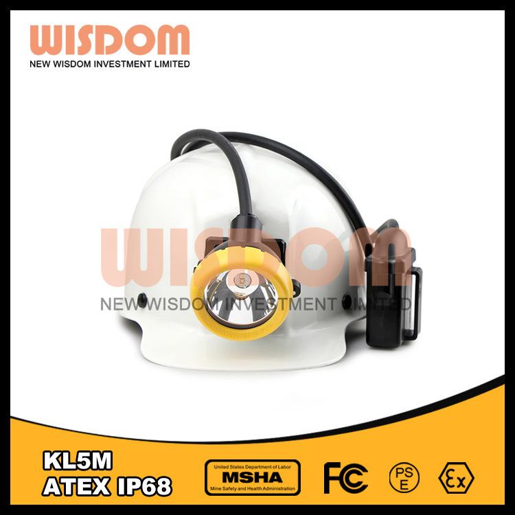 Shenzhen Wisdom Waterproof IP68 LED Coal Miner Lamp, Headlamp Kl5m
