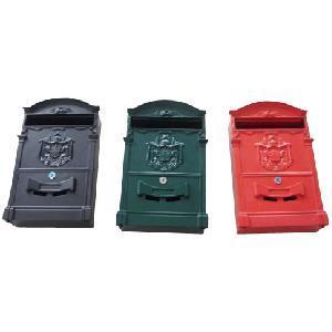 Classic Design Cast Aluminum Mail Box