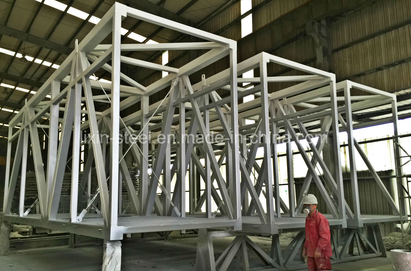China modular building steel structure air bridge with
