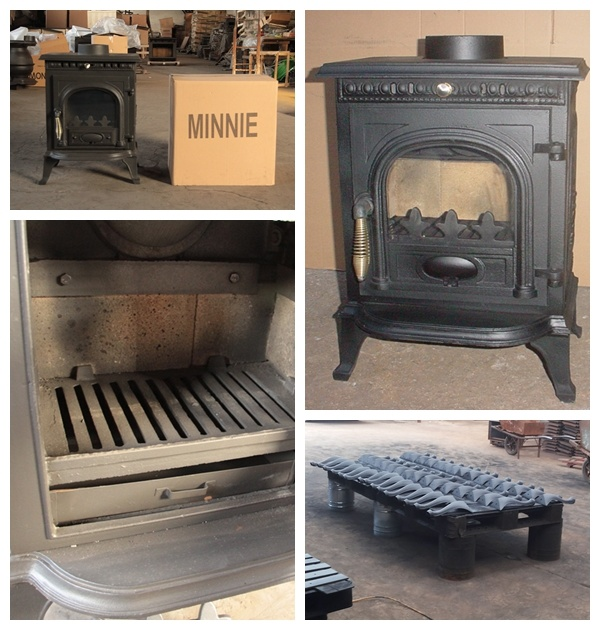 Customized Fireplace Cast Iron with CE Certificati
