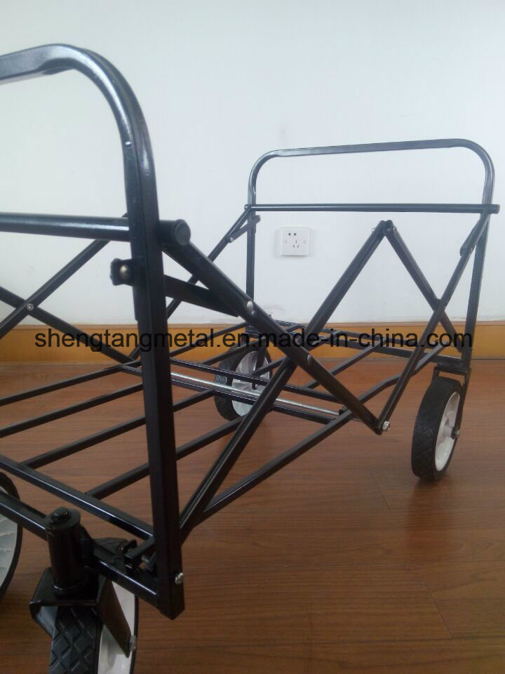 Folding Children Kids Toy Wooden Wagon for Sale