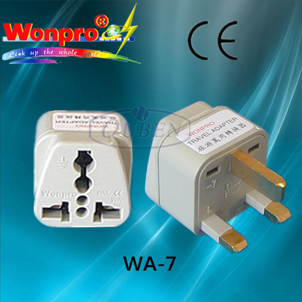 Universal Travel Adaptor with UK Plug