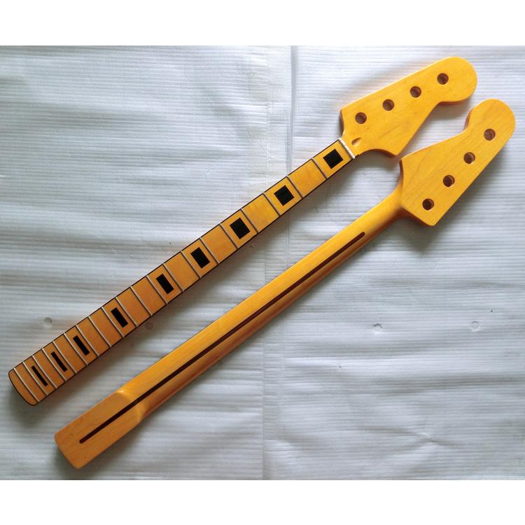 20 Fret Jazz Bass Necks Canadian Maple Bass Neck Replacement