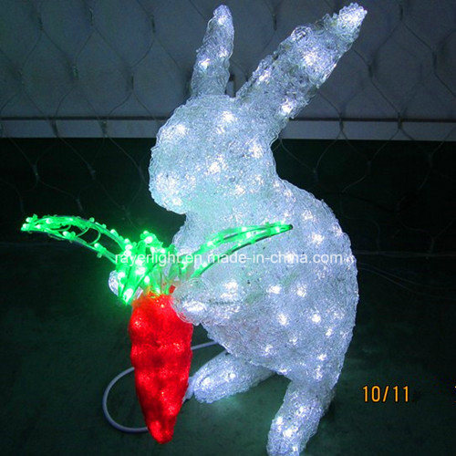 Holiday Newly Craft Park Light Show LED Deer Christmas Lights