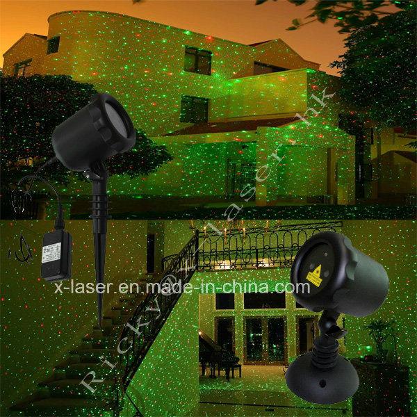 X-23p Red Green Outdoor Christmas Laser Lights /Outdoor Laser Christmas Lights /Waterproof Garden Landscape Laser Lights