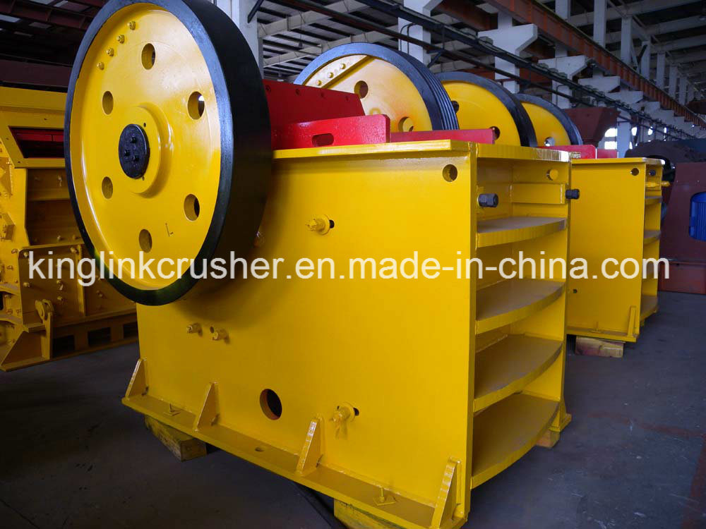 Quarry Rock Jaw Crusher for Primary Crushing Stage