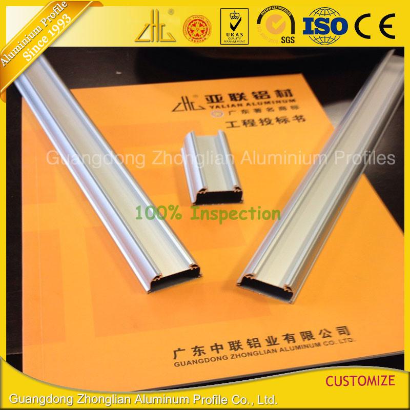 OEM Extruded Aluminium LED Profile for LED Strips Tube