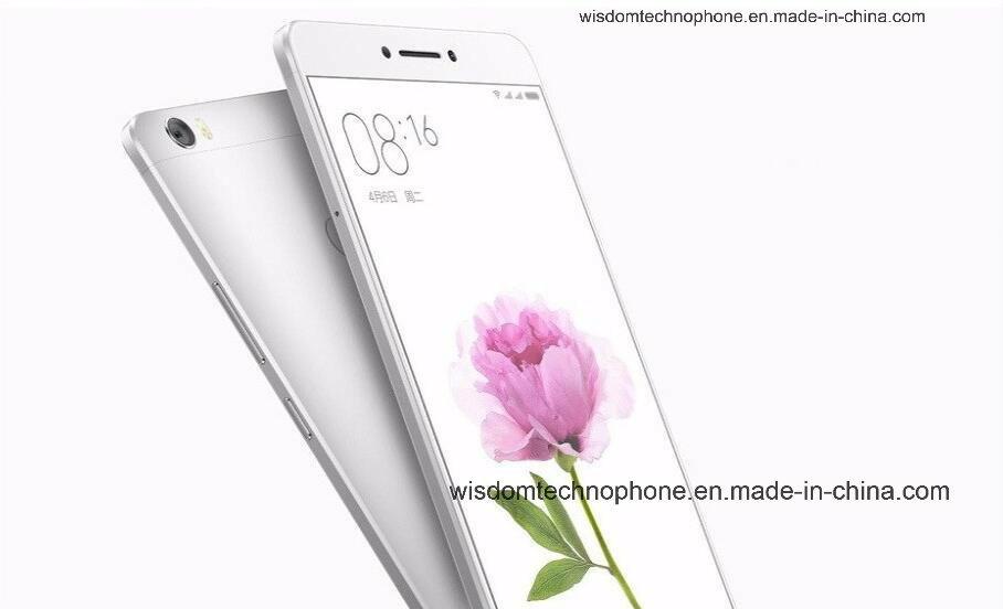 "3GB RAM 64GB ROM M1max 6.44"" Snapdragon 650 Hexa Core 4G Lte Fingerprint ID Smart Phone Silver"