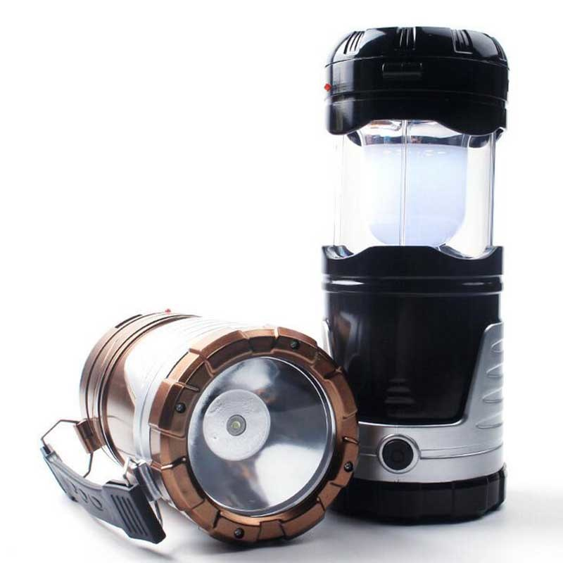 5W Multifunctional Solar LED Camping Light
