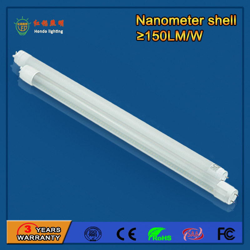 14W SMD 2835 T8 LED Tube Light for Office Buildings