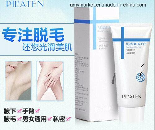 Pilaten Hair Removal Cream Mild Formula Silky Skin Depilatory Cream Unisex Hair Remover 100g