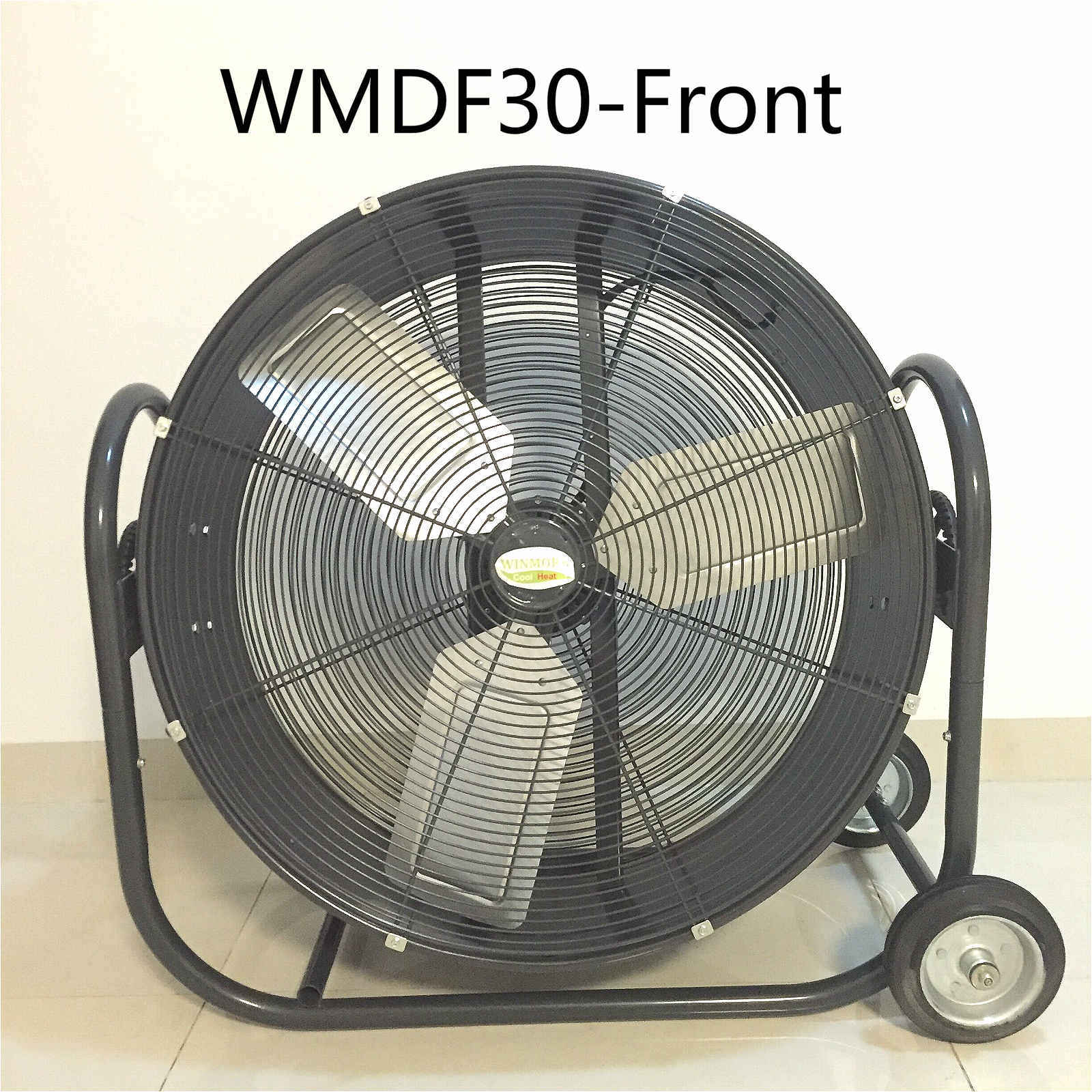 30 Inch Stand Fan Cooling Fan Drum Fan Exhaust Fan for Patio