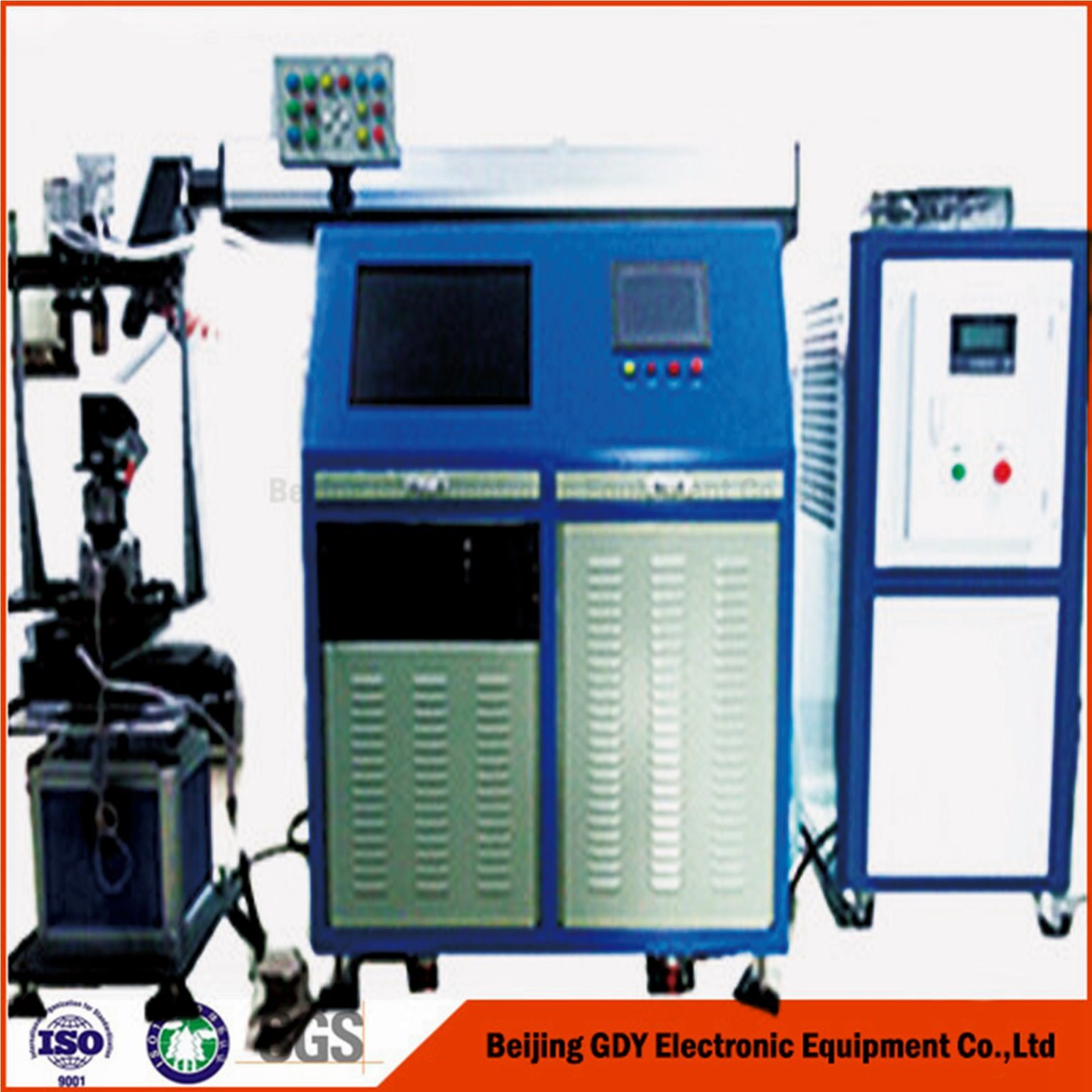 CNC Laser Welding Machine for Ss Manometer