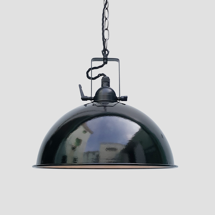 Balck Enamel Pendant Light for Modern Decoration