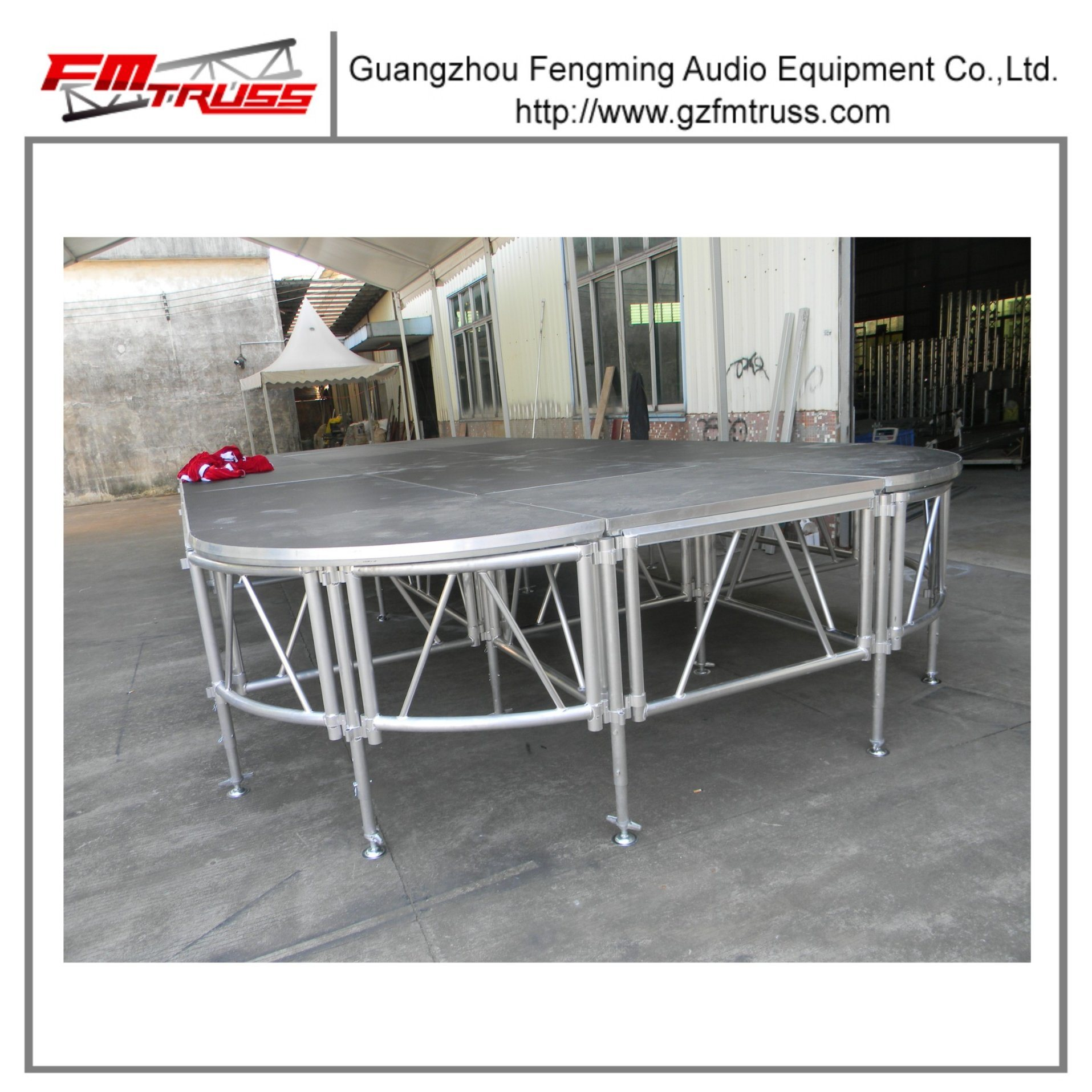 Outdoor Fashion Show Modular Aluminum Stage