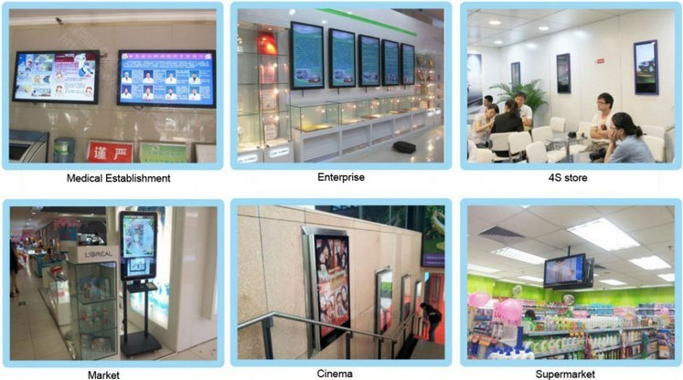 LCD Display/P7.62 Seven Colors Single Line LED Screen Display