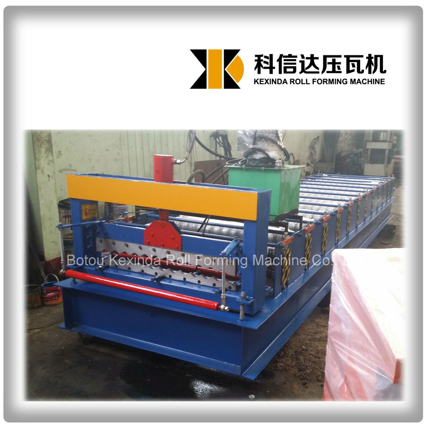 Kxd-836 Aluminium Corrugated Sheet Forming Machine Roof Tile Making Machine