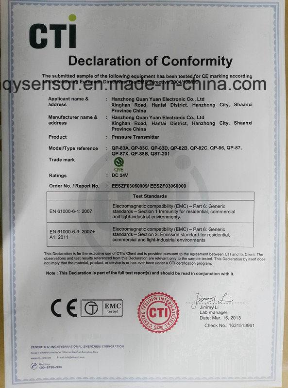 LED Display Liquid Level Transducers with Ce
