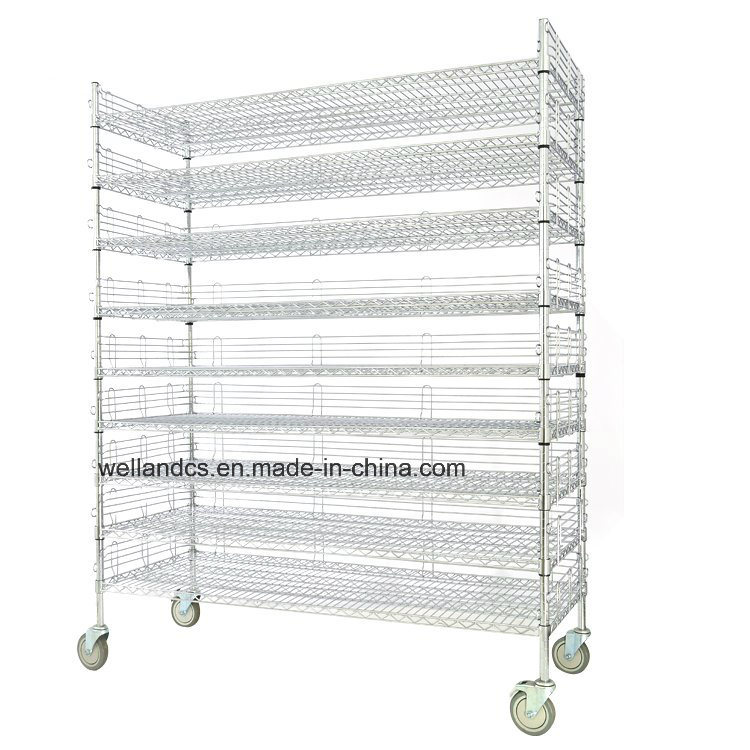 NSF Adjustable Heavy Duty 500lbs Commercial Metal Wire Bread Rack