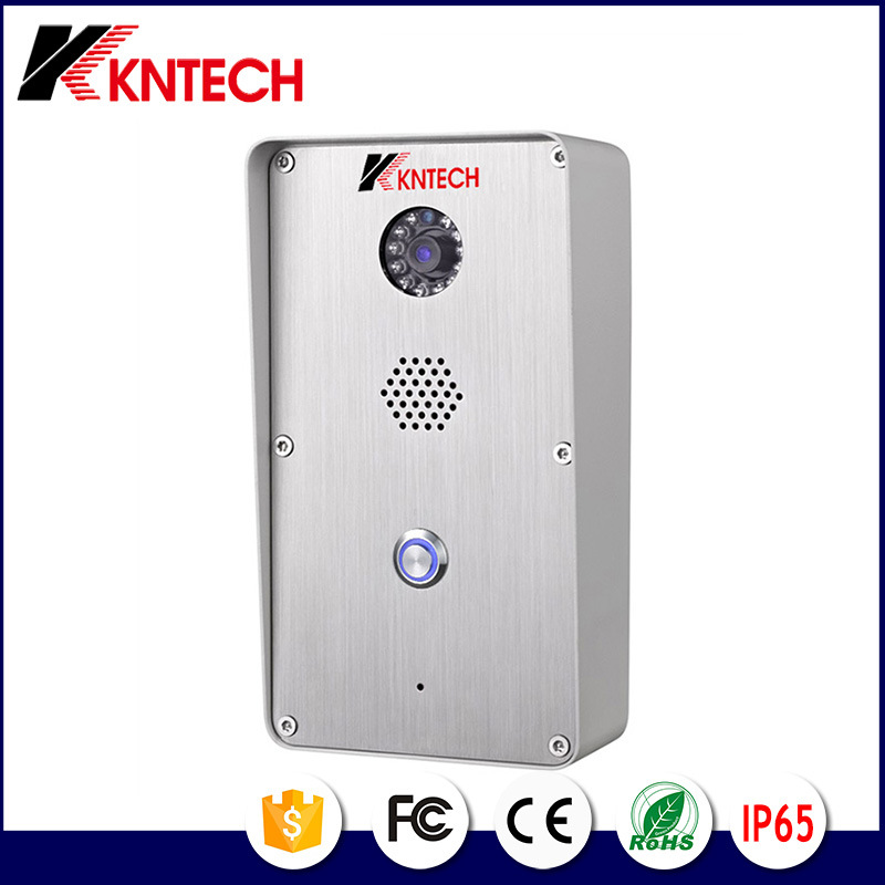 Kntech Knzd-47 Outdoor Video Doorphone Accessible Entry System with Video Camera