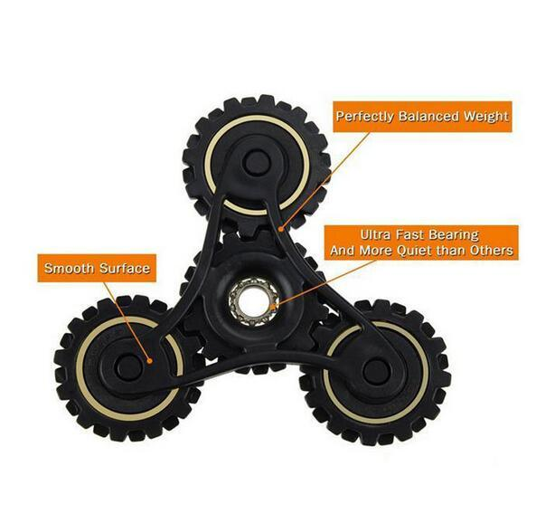 Chinese Manufacturers Hot Gyroscope Fidget Toys Gear Fidget Spinner