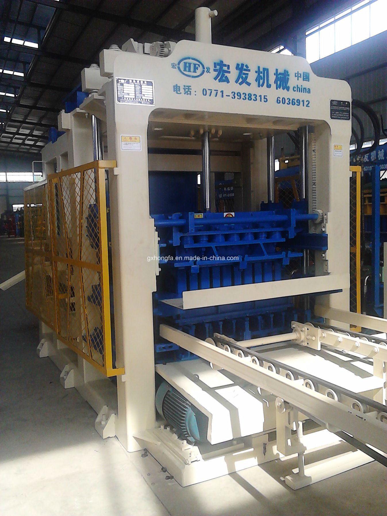 Hfb5150A Fully Automatic Concrete Block Making Machine Block Making Machine