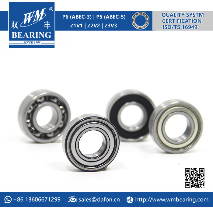 Motorcycle Parts 6202 2rz 2RS Deep Groove Ball Bearing