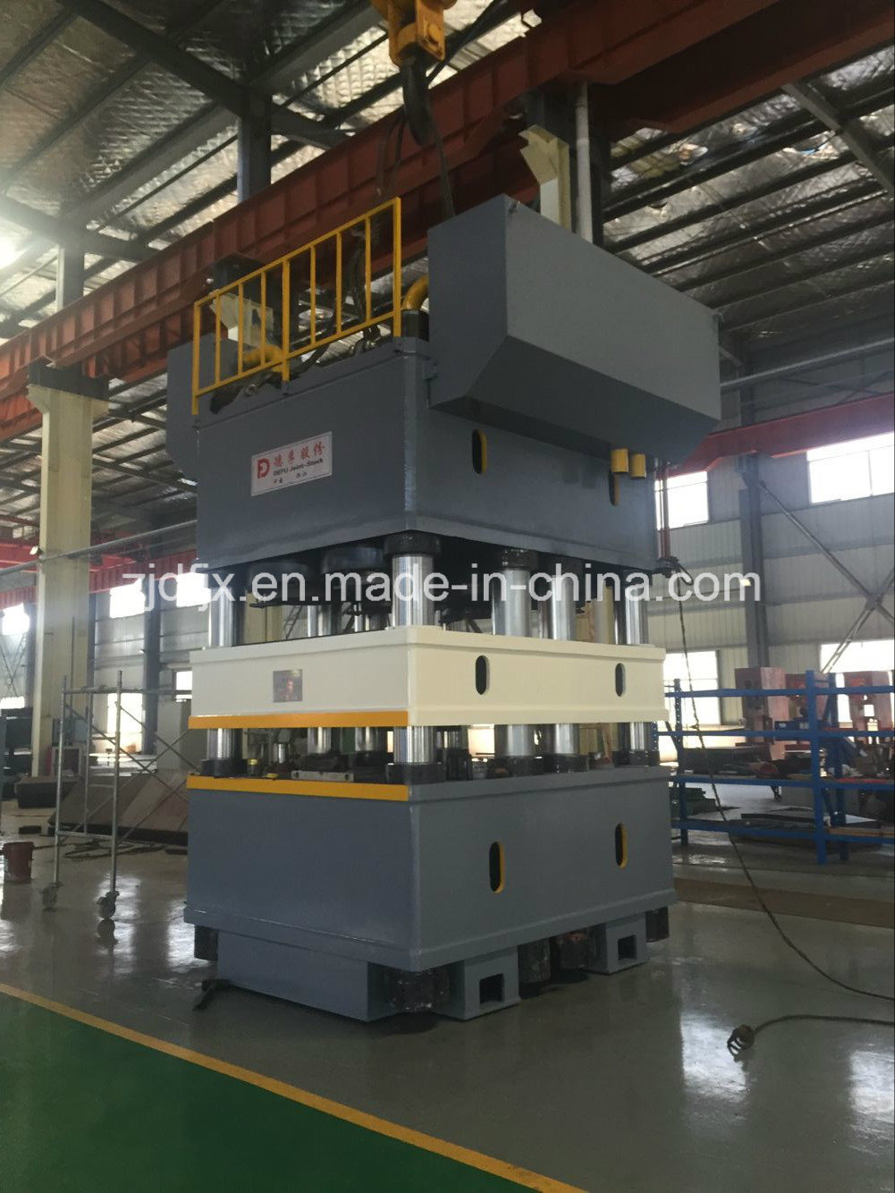 Deep Embossing Press Machine