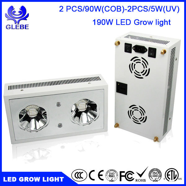 120W LED Grow Light Full Spectrum for Indoor Plants Veg and Flower