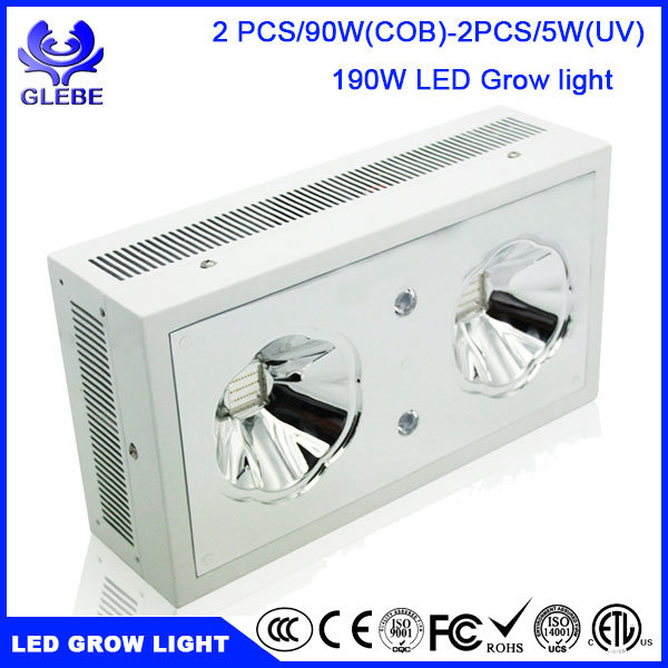 120W LED Grow Light Full Spectrum for Indoor Plants Veg and Flower