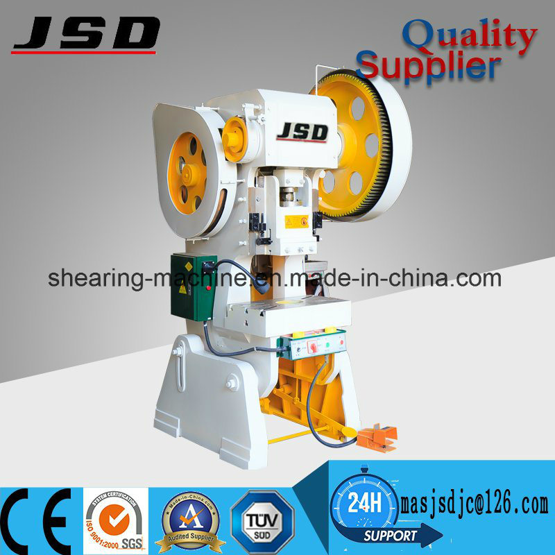 J23 Steel Metal Press Punching Machine Price for Hole Punch